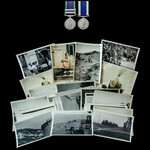 Aden Emergency, Radfan and South Arabia operations long service pair awarded to Corporal P.J.J. M...