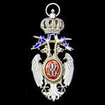   Serbia - Kingdom of: Order of the White Eagle, 4th / 5th Class, Knight / Officer's Grade, bein...