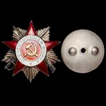 Russia – Soviet: An interesting Liberation of Estonia Order of the Patriotic War 2nd Class to Mas...