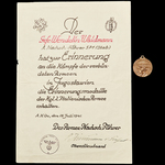 Germany – Third Reich: The Unusual Yugoslav Campaign Italian Commemorative Medal, and Operation B...