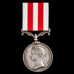 Indian Mutiny Medal 1857-1859, no clasp, awarded to Leading Seaman Samuel Haines, Royal Navy, who...