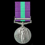 General Service Medal 1918-1962, GVI Coinage bust, 1 Clasp: Iraq, awarded to Driver T. Roy, Royal...
