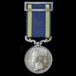A very fine Punjab Medal 1848-1849, no clasp, awarded to Major later Major General Edmund Wintle,...