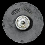 Finland: Badge for Disabled Military Veterans of the 1939-1945 War by Hopeajaloste Oy of Helsinki.