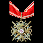 Russia - Imperial Russia: Order of Saint Stanislaus 2nd Class Military Division with Swords, neck...
