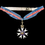 Order of Saint Michael and Saint George, Companion, C.M.G., breast badge converted circa 1916 to ...