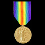 Victory Medal awarded to Private W. Alexander, Gloucestershire Regiment later Labour Corps.
