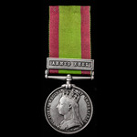 A very good Afghanistan Medal 1878-1880, 1 Clasp: Ahmed Khel, awarded to Lieutenant Colonel later...