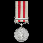 Indian Mutiny Medal 1857-59, 1 Clasp: Lucknow, awarded to Lieutenant Colonel C.F. Seymour, Assist...