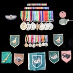 The superb Second World War, Malayan Scouts and Rhodesian Bush War Rhodesia Exemplary Service Med...