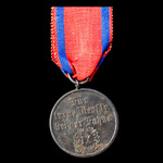 Germany - Imperial: Wurttemberg: Long Service Decoration 3rd Class for 9 Years' Service, blackene...