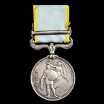 Crimea Medal 1854-1856, 1 Clasp: Sebastopol, officially impressed naming, awarded to Passed Clerk...