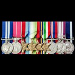 A very good Second World War Destroyer operations Far East Birthday Honours 1945 Distinguished Se...