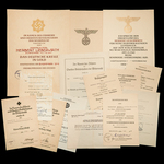 Germany – Third Reich: The Truly Superb Stalingrad related Set of Documents to the Highly Decorat...
