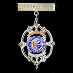   A Hastings and Saint Leonards Chamber of Commerce Chairman's Badge for 1946, as worn by B.A. H...