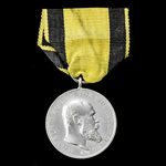 Germany - Imperial: Wurttemberg: Military Merit Medal in Silver, 1892-1918 issue, of early Great ...