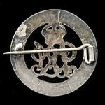 Silver War Badge, reverse numbered '179463' awarded to Private W. Coket, 6th Battalion, Northumbe...