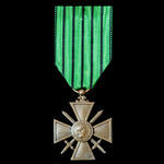 France: War Cross - Croix de Guerre, dated 1939-1940, Vichy French issue, with appropriate Vichy ...