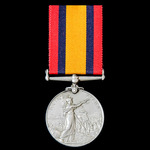 Queen's South Africa Medal 1899-1902, no clasp, awarded to Private A.E. Arnold, Paarl Town Guard....