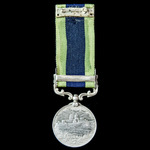 India General Service Medal 1908-1935, 1 Clasp: Burma 1930-32, awarded to a Signalman Zaman Khan,...