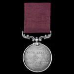Army Long Service and Good Conduct Medal, Victoria small letter reverse, impressed naming, awarde...