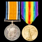 Great War Pair awarded to Private J.H. Wildish, The Queen's (Royal West Surrey) Regiment.
