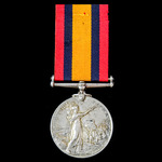 Queen's South Africa Medal 1899-1902, no clasp, awarded to Lance Corporal J.J. Van Der Walt, Petr...