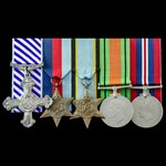 Second World War Bomber Command Special Duties Stirling bomber pilot's 1943 to 1944 operations Di...