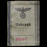 Germany – Third Reich: An interesting Casualty's Wehrpass and Small Document Group to Peter Josep...