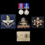 Second World War and post-war Palestine Jewish Revolt pair awarded to Gunner J.J. Flynn, Royal Ar...