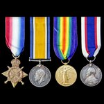 Great War Dover Patrol and Minesweeping operations long service group awarded to Able Seaman H. O...