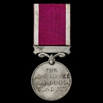 Regular Army Long Service and Good Conduct Medal, GVR Crowned head bust, awarded to Sergeant L.G....