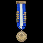 National Rifle Association Prize Medal for Marksmanship, bronze, complete with top bar for NRA Bi...