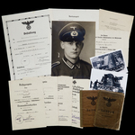 Germany – Third Reich: An Excellent Advance to the Dnieper Iron Cross 2nd Class and Operation Cit...