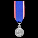 Royal Victorian Medal in Silver, EVII bust, unnamed as issued.