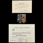 Germany – Third Reich: The Interesting Group of 6 Decorations and Award Certificates to Unteroffi...
