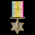 Punniar Star 1843, fitted with modified bronze suspension, awarded to Private Charles Nowtan, 3rd...