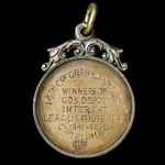 A Grenadier Guards Sports Medal awarded to Guardsman C.M. Plumb, Grenadier Guards, for his partic...