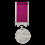 Regular Army Long Service and Good Conduct Medal, GVI 1st type bust, awarded to Warrant Officer 2...