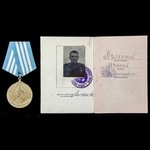 Russia – Soviet: An unusual White Sea Patrol Boat Medal of Nakhimov to Petty Officer First Class ...