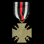 Germany - Imperial: Honour Cross 1914-1918 with Swords for Combatants, reverse makers marked: 'W....
