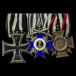 Germany - Imperial German Empire and Bavaria: Group of 3 awards comprising: Iron Cross 1914 2nd C...