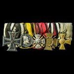 Germany - Imperial, Prussian Empire, and Württemberg: Group of 5 awards comprising: Iron Cross 19...