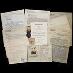 Germany – Third Reich: An Operation Citadel Black Wound Badge Certificate, Wehrpass and Document ...