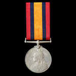 Queen's South Africa 1899-1902, no clasp, awarded to Trooper F. Sleigh, Hopefield District Mounte...