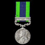 India General Service Medal 1908-1935, 1 Clasp: Afghanistan N.W.F. 1919, awarded to Private W.G. ...