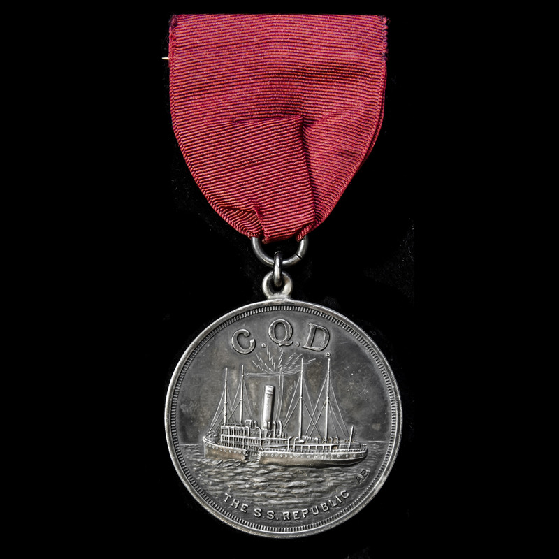   A C.Q.D. Medal in Silver, . | London Medal Company