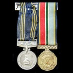 ​  A Zimbabwe Police Long and Exemplary Service Medal and Zimbabwe 10 Year Service Medal awarded ...