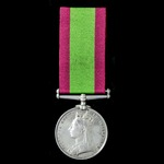 An Afghanistan Medal 1878-1880, no clasp, awarded to Private S. Ward, 2nd Battalion, 8th The King...