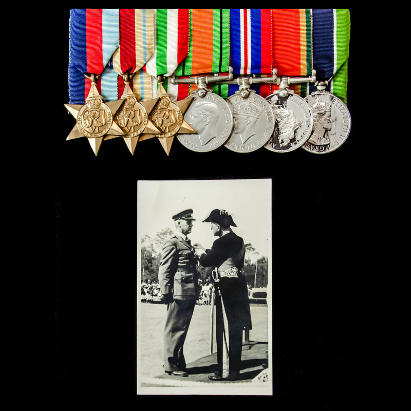 Second World War Middle East .   London Medal Company